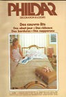 CATALOGUE PHILDAR N°3 DECORATION & LOISIRS CROCHET COUVRE- LITS NAPPERONS