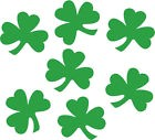 Confettis Vert Saint Patrick 14g forme trefles a 3 feuilles decoration de table$