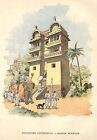 PARIS EXPO 1889 WORLD FAIR / MAISON DE L' INDE INDIA GRAVURE ENGRAVING