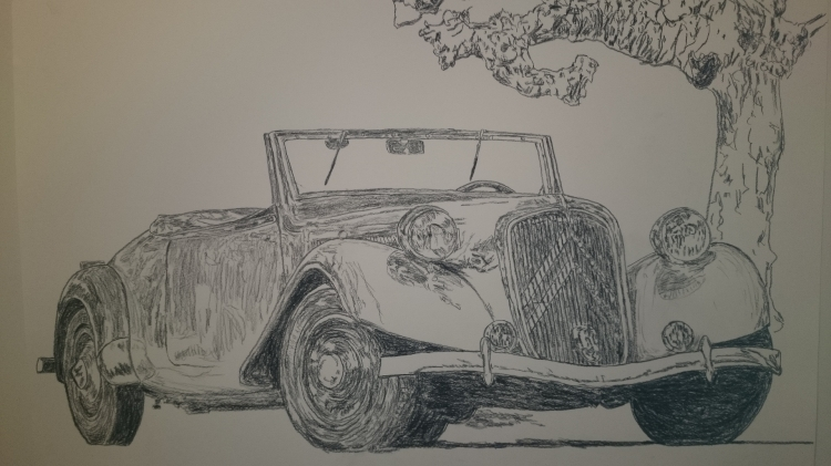 DESSIN voiture auto traction - traction