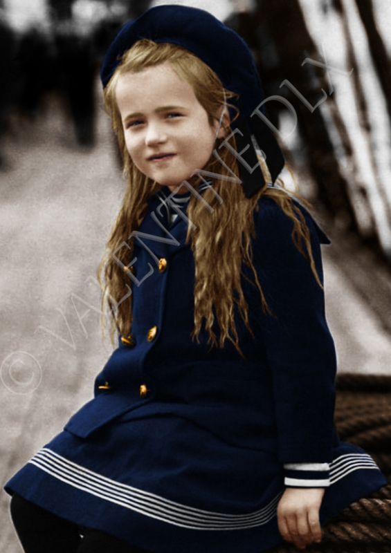 ART NUMéRIQUE Grande-duchesse Russie Romanov Bâteau - Anastasia Romanov