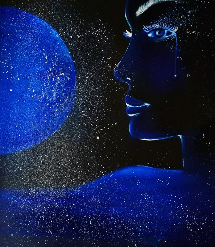 TABLEAU PEINTURE Cosmos - Cosmos
