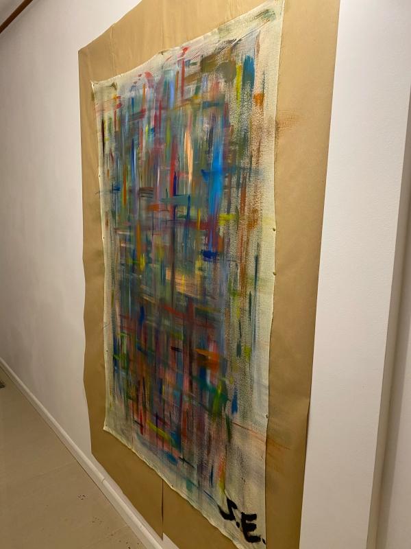 TABLEAU PEINTURE abstrait art couleurs 27 - 27