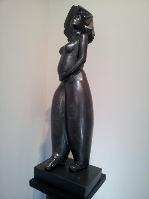 SCULPTURE résine sculpture salamone gard - Lady in