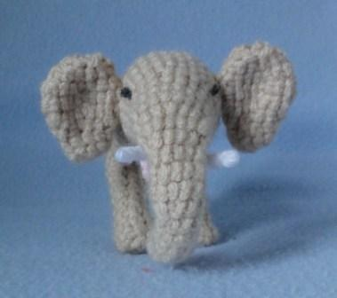 Patron Amigurumi : L'éléphant au crochet – Made by Amy | 336x379