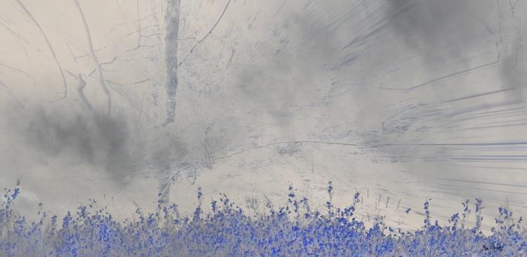 ART NUMéRIQUE bleu - Bleu