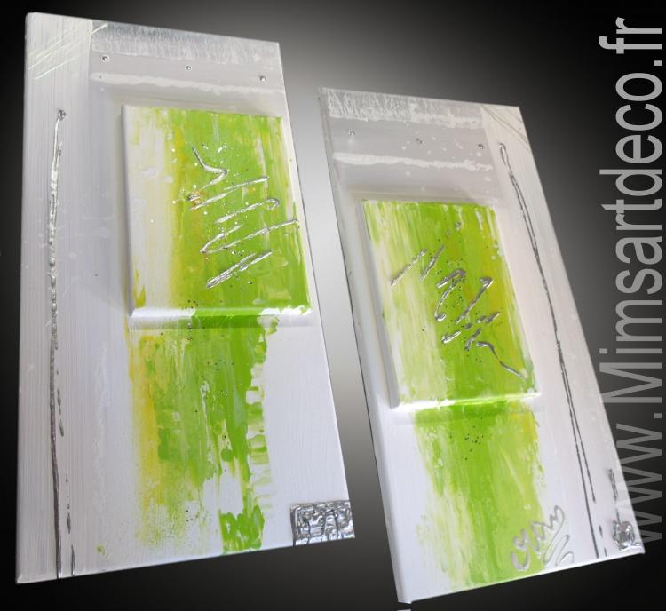 Tableau Peinture Art tableaux abstraits tableaux design moderne ...