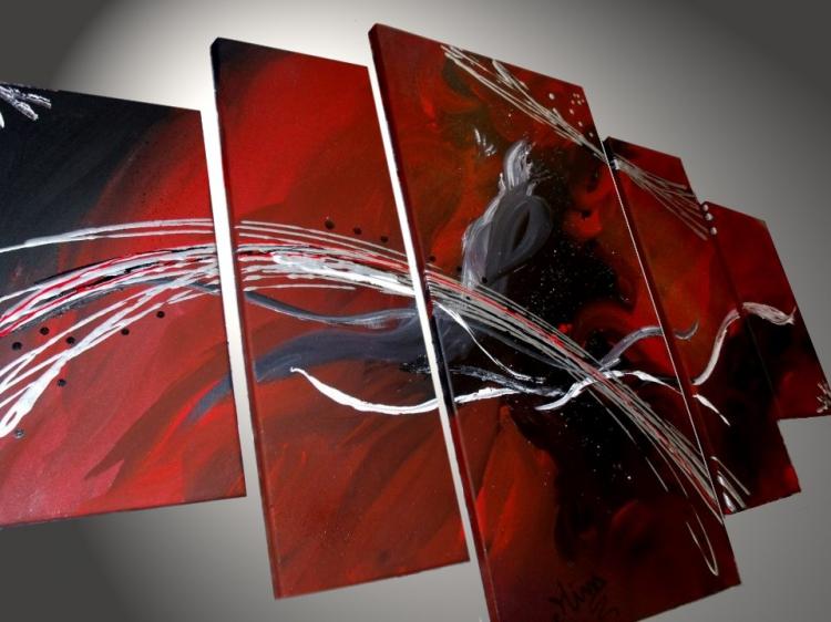 TABLEAU PEINTURE Tableau Abstrait Tableaux Design Tableau Moderne Decoration  Murale   Tableaux Abstrait Design