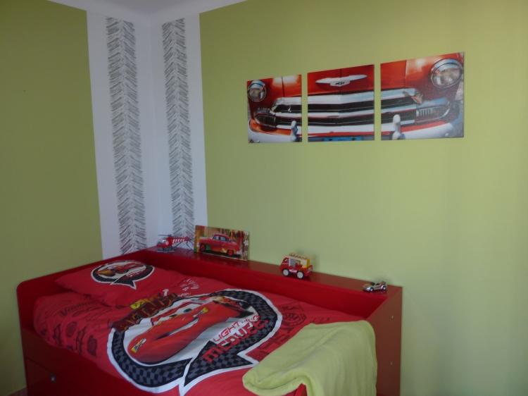 Déco, Design décoration chambre enfant voiture Sport - Chambre ...