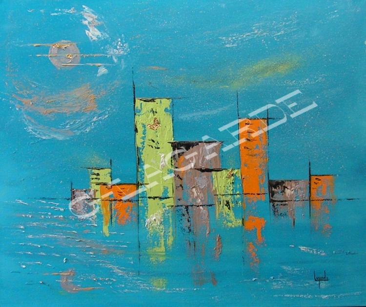 Tableau Peinture Art Cadeau Noel Mariage Meuble Ferronnerie