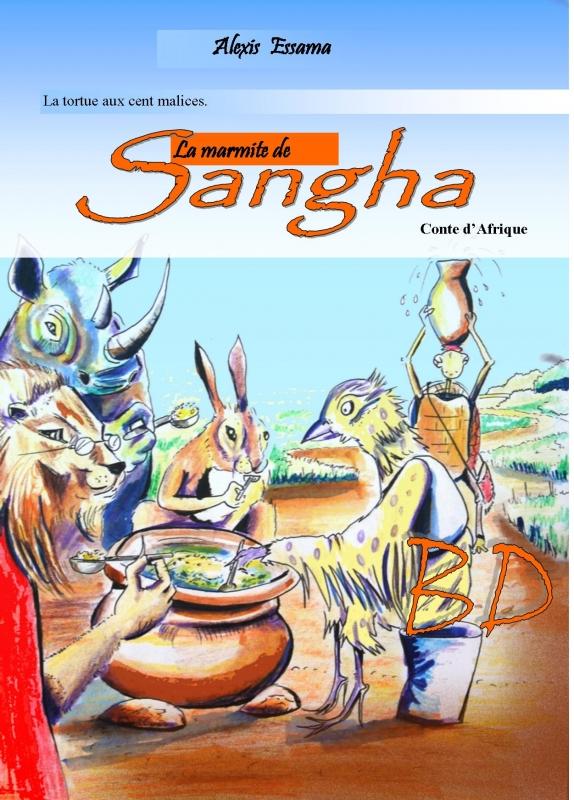 TABLEAU PEINTURE - la marmite de Sangha