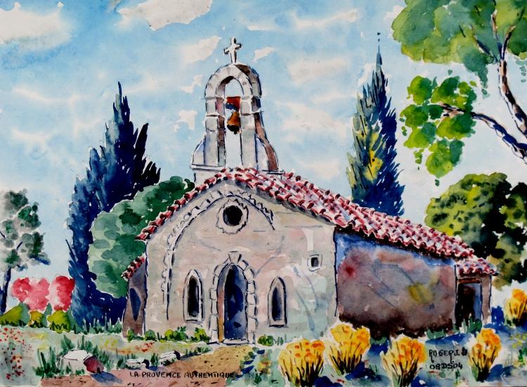 TABLEAU PEINTURE - la Provence authenyique N° : 08 DS 04