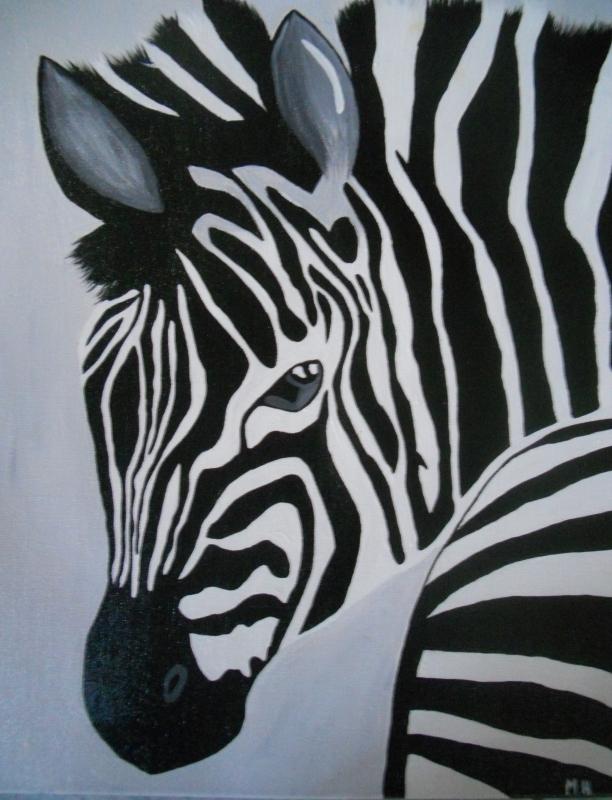 Tableau Peinture Art Animaux Acrylique -