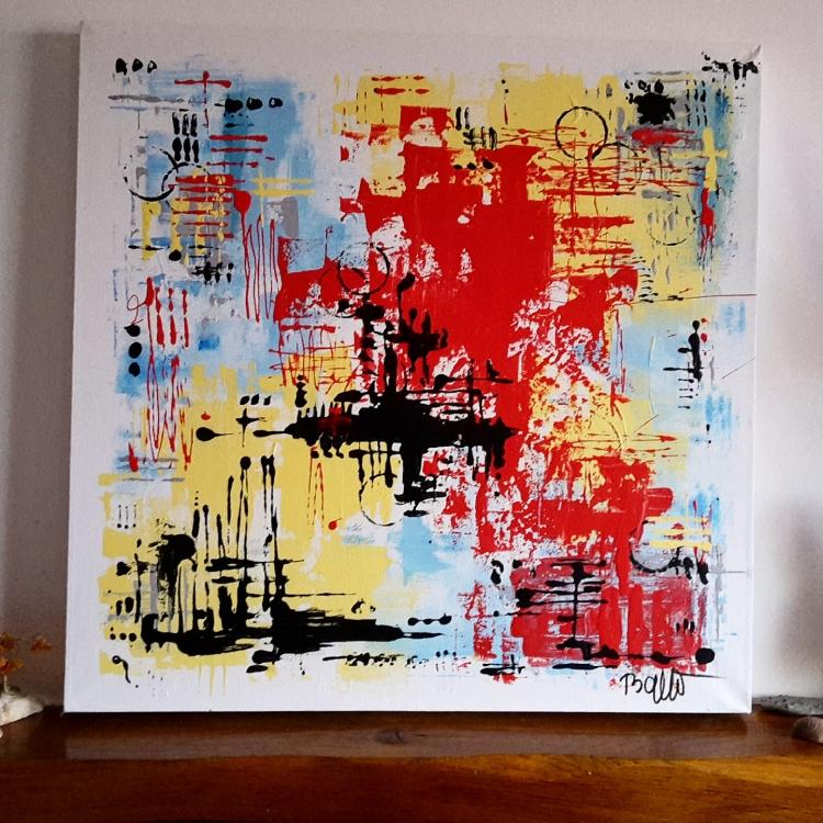 Tableau Peinture Art Abstrait Contemporain