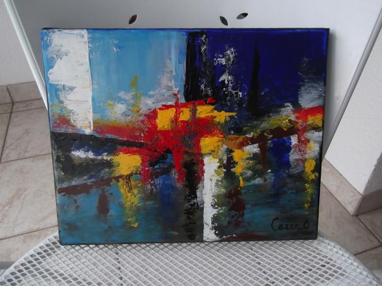 TABLEAU PEINTURE - Abstrait
