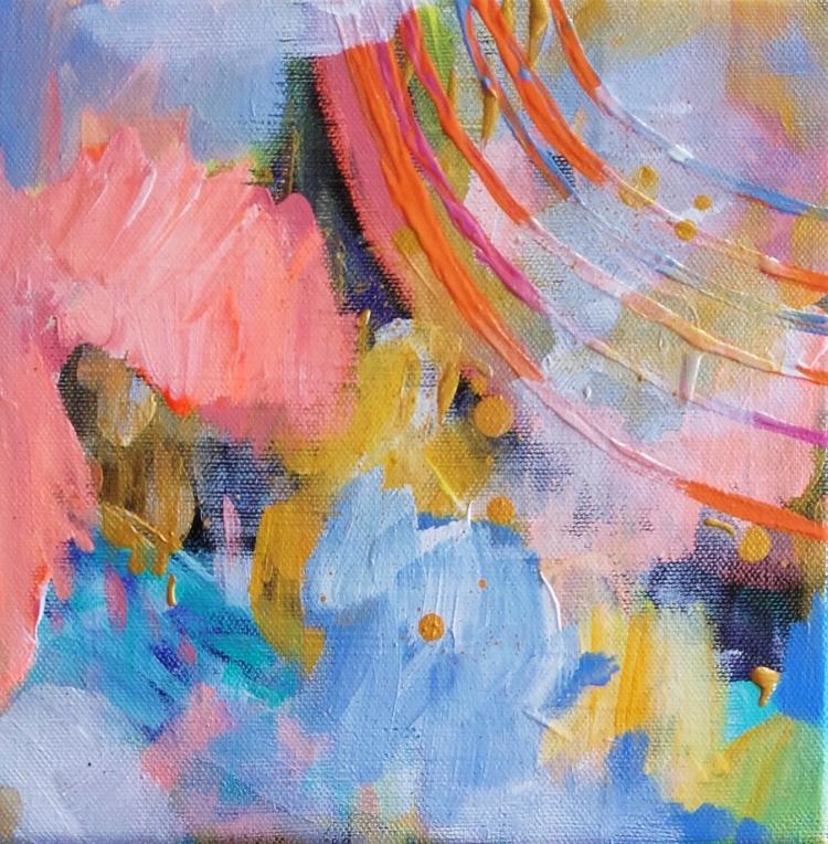 TABLEAU PEINTURE art abstrait - abstrait