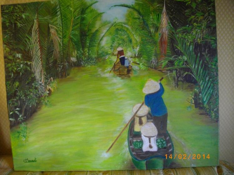 Tableau Peinture Art Paysages Peinture a