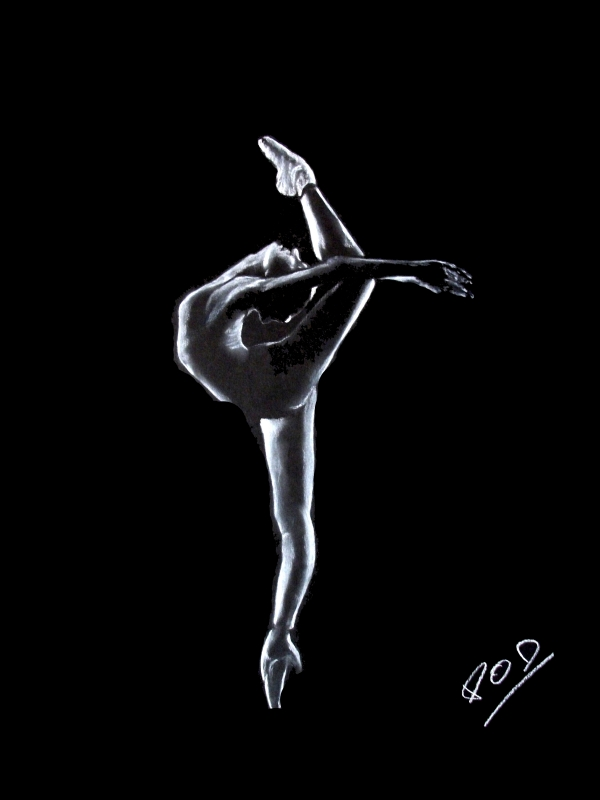 tableau peinture art tableau de danseuse danse classique. Black Bedroom Furniture Sets. Home Design Ideas
