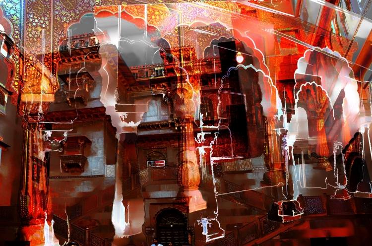 ART NUMéRIQUE Rajasthan Junagarh Inde Tachoire - Junagarh Fort