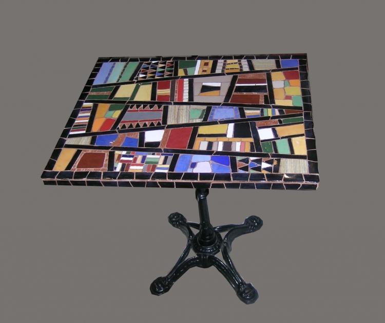 Artisanat d\'art mosaique decoration salon jardin Abstrait ...
