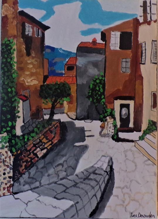 TABLEAU PEINTURE - Rue San bito