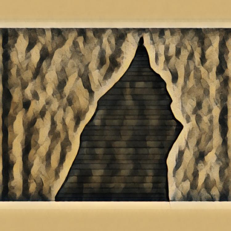 ART NUMéRIQUE Sienne Pyramide étrange Couleur Art numérique - Sienne 23