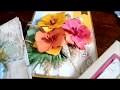 Tuto Fleurs de papier