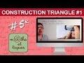 Construire un triangle (1) - Cinquième
