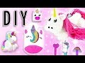 LICORNE KAWAII BACK TO SCHOOL 6 IDEES DE FOURNITURES SCOLAIRES TUTO DIY