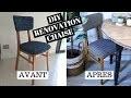 Comment rénover une chaise ? DIY niveau facile | tribulationsdanais