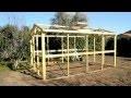 Réalisez une serre en bois ultra résistante et démontable de 10m²