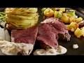 Recette Rôti de biche, gratin de pommes de terre et chutney de mangue aux pruneaux - Colruyt