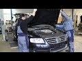 Demontage VW Touareg 5.0 V10 TDI - www.klassencarparts.com