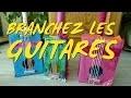 bricolage enfant : une guitare réalisée en carton recyclé