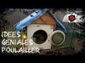 Idées géniales de poulalliers DIY avec de la récup