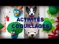 Idées d'activités à faire avec les enfants avec des coquillages