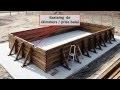 Comment installer une piscine Bois rectangulaire Hors-sol 5 X 10 m - PIVETEAUBOIS Durapin