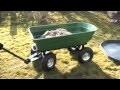 Chariot Jardin Remorque de Jardin 75l 250kg