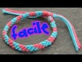 Bracelet bresilien 2 couleurs (super facile)