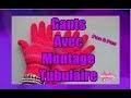 DIY. Gants Avec Deux Aiguilles et Montage Tubulaire//Knit Gloves Two Needles and Tubular Elastic