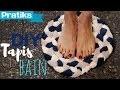 Décoration : comment faire un tapis de bain DIY ?