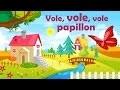 Vole, vole, vole papillon - Comptine avec gestes pour enfants et bébés (avec les paroles)