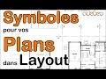 Installation symboles architecturaux pour LayOut