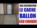 cache ballon d'eau chaude - idée décoration maison appartement