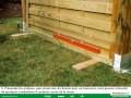 Piveteau bois montage panneaux et astuces