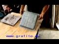 NOUVELLE TECHNOLOGIE - production d'un trottoir  et de carreaux de mur