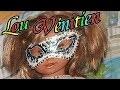 Bricolage facile de CARNAVAL : Masque lou Vénitien pailleté