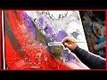 Comment peindre un tableau art abstrait à la peinture acrylique   Goliath