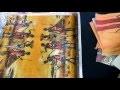 Décorer un plateau en bois avec des serviettes en papier