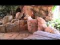Fausses pierres, faux rochers, dalles en béton scu